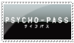Psycho-Pass Stamp by AaronMon97