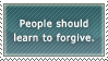 Stop Not Forgiving Anyone by AaronMon97