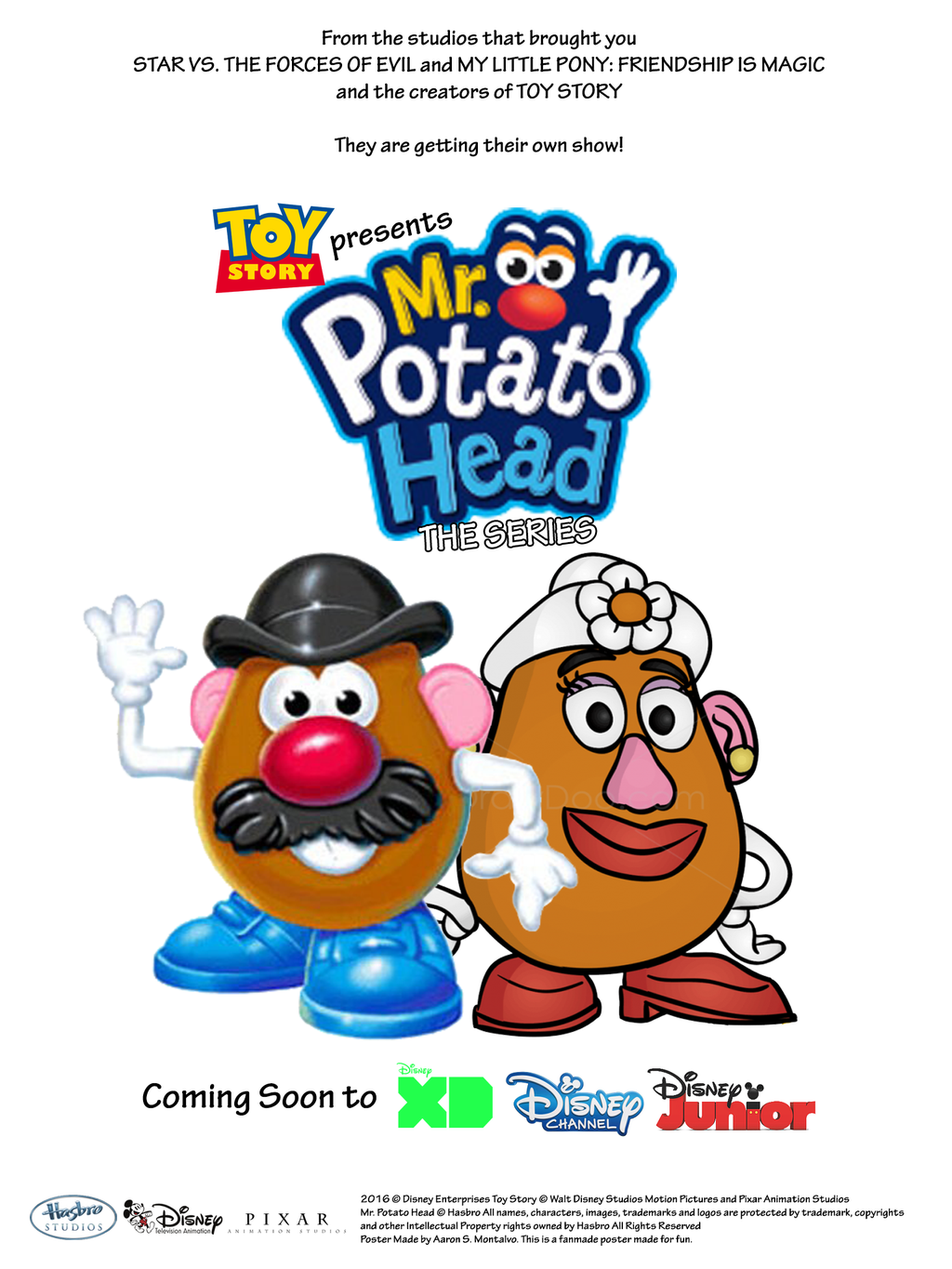 Toy Story Presents Mr Potato Head The Series By AaronMon97