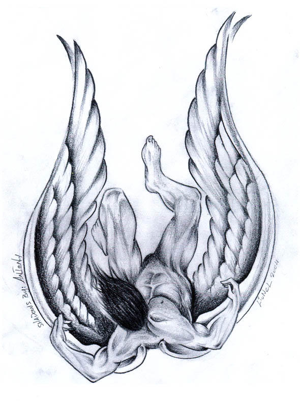 Falling angel by lionel k on deviantart falling angel by lionel k altavistaventures Choice Image