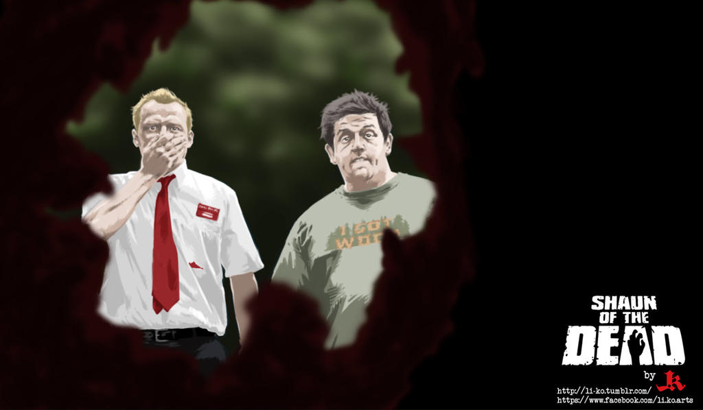 Shaun of the Dead by LioNeL-K