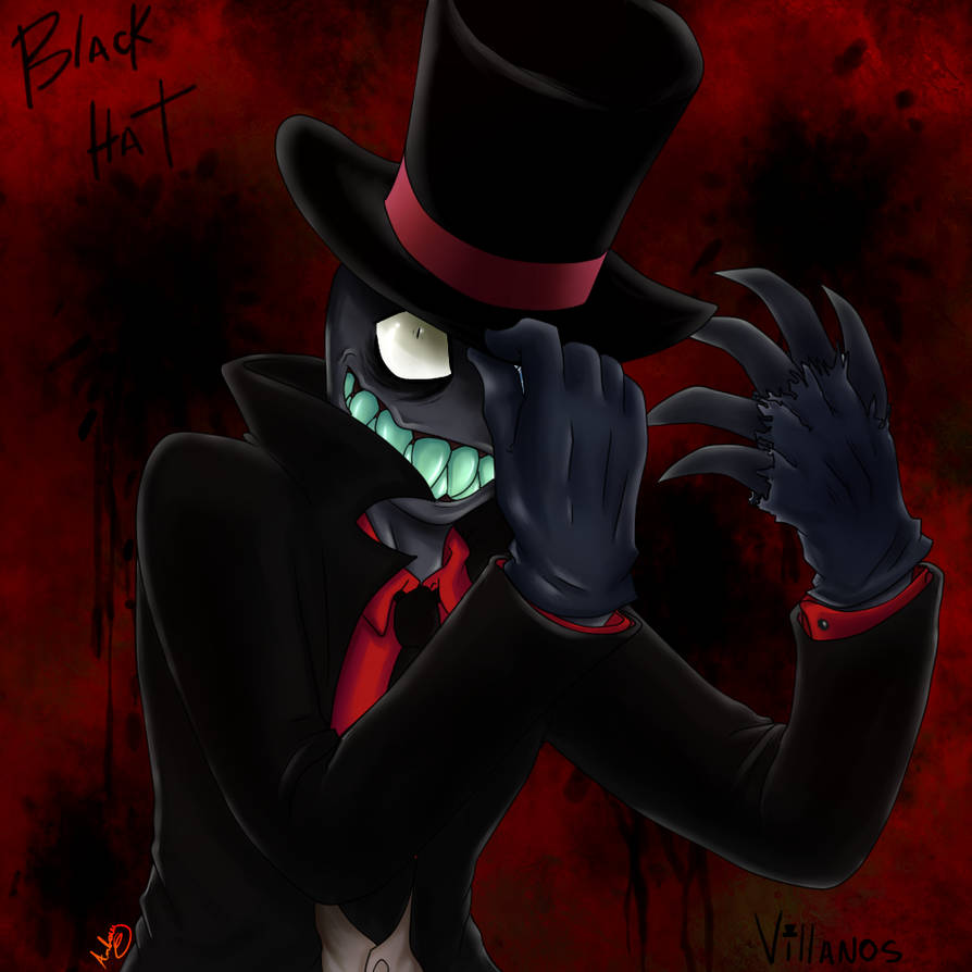 Black Hat Villanos By Megaman4ever On Deviantart
