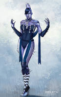 Killer Frost by Dieleth