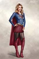 Supergirl (Melissa Benoist) by Dieleth