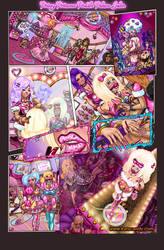 PRISSY PRINCESS POODLE PALACE FULL COLOUR