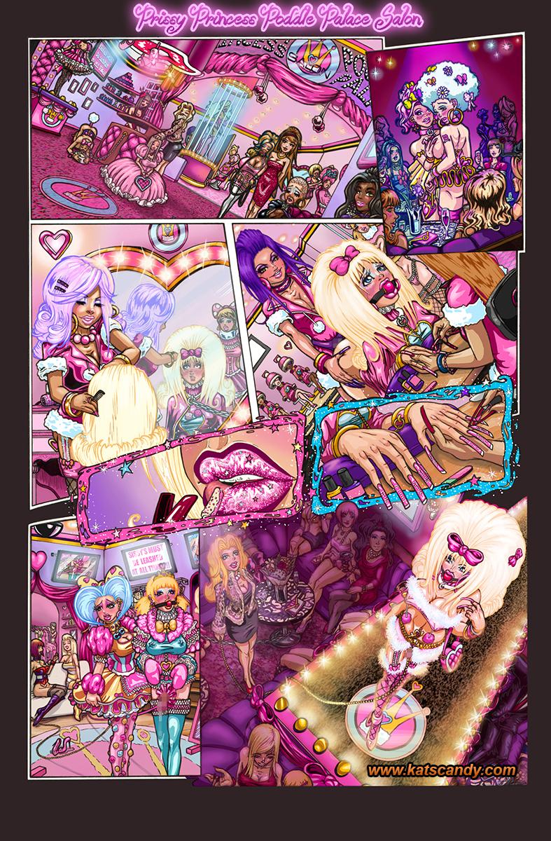 Original bondage fairies comic