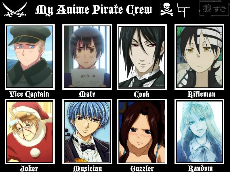 Funny Meme Moments : Lindsay s hlindsayt anime pirate crew meme by hlindsayt on