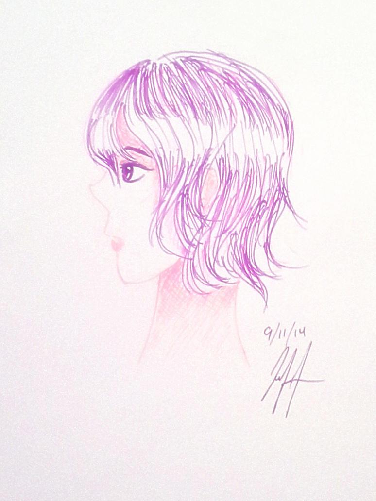 [Gel Pens]-Violet by HLindsayT