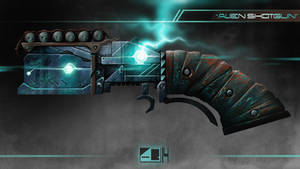 Alien Shotgun by Koarjhed