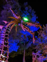 Maleficent Dragon Headshot. by Kaiju-Brawler911