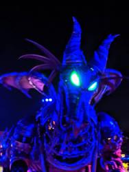 Maleficent Dragon in the Dark. by Kaiju-Brawler911