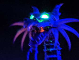 Maleficent Dragon Headshot in the Dark. by Kaiju-Brawler911