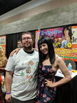 Hanging out with Grey DeLisle/Griffin.