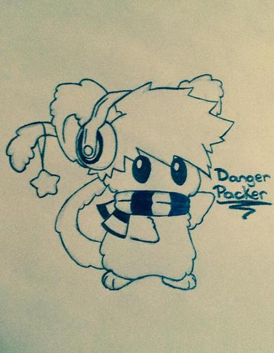 Dangerpacker fluffeh by Damagedbro