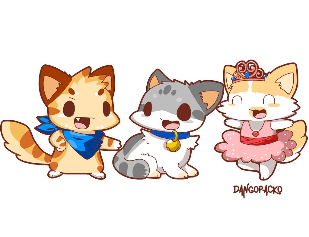 Cat Game! by Damagedbro