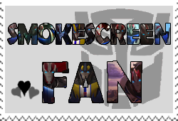 Smokescreen fan-made stamp by Playstation-Jedi