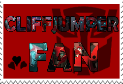 Cliffjumper fan-made stamp