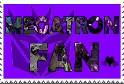 Megatron fan-made stamp by Playstation-Jedi