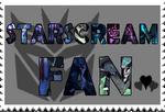 Starscream fan-made stamp by Playstation-Jedi