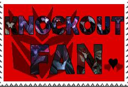 Knockout fan-made stamp by Playstation-Jedi