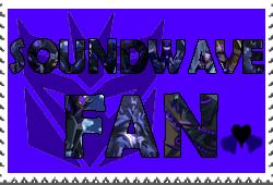 Soundwave fan-made stamp by Playstation-Jedi