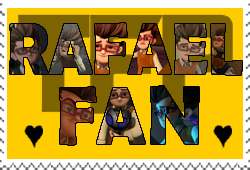 Rafael fan-made stamp by Playstation-Jedi