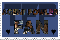Agent Fowler fan-made stamp by Playstation-Jedi