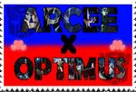 ArceeXOptimus fan-made stamp by Playstation-Jedi
