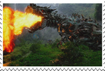 Age of Extinction: Grimlock stamp by Playstation-Jedi