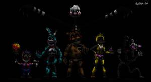 The Nightmare Toy Animatronics