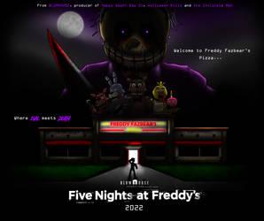 Fan-Made FNaF Movie Poster 4 by Playstation-Jedi