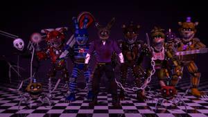 The Slasher Animatronics 3D Showcase
