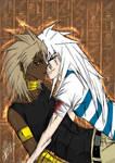 Marik and Bakura - Psychoshipp