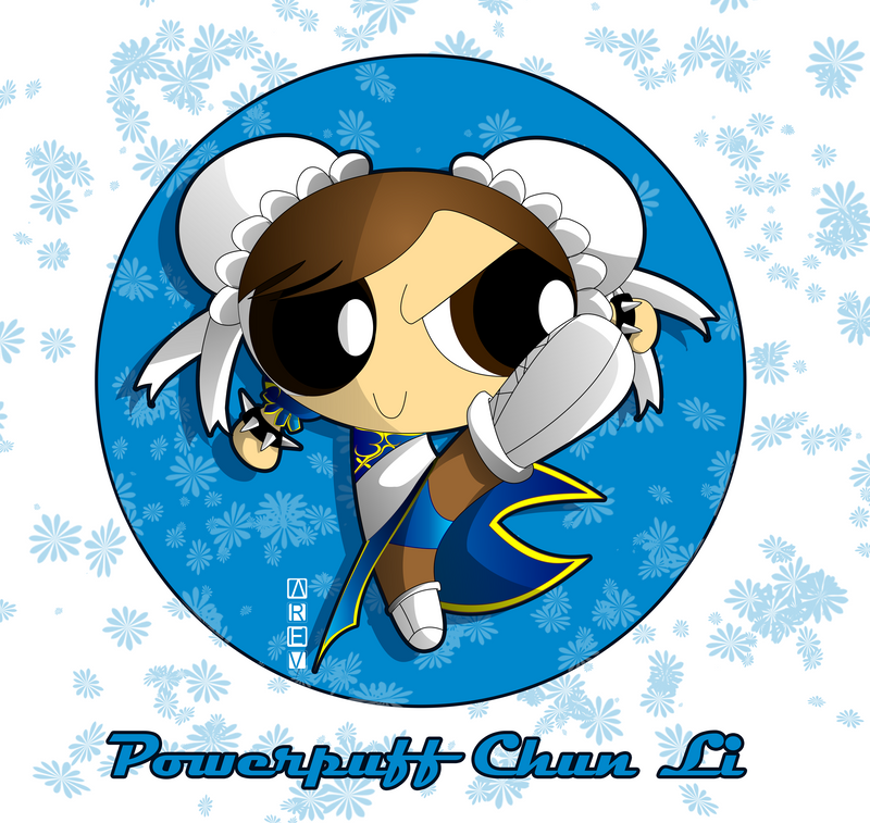 Powerpuff Chun Li by Arev-San