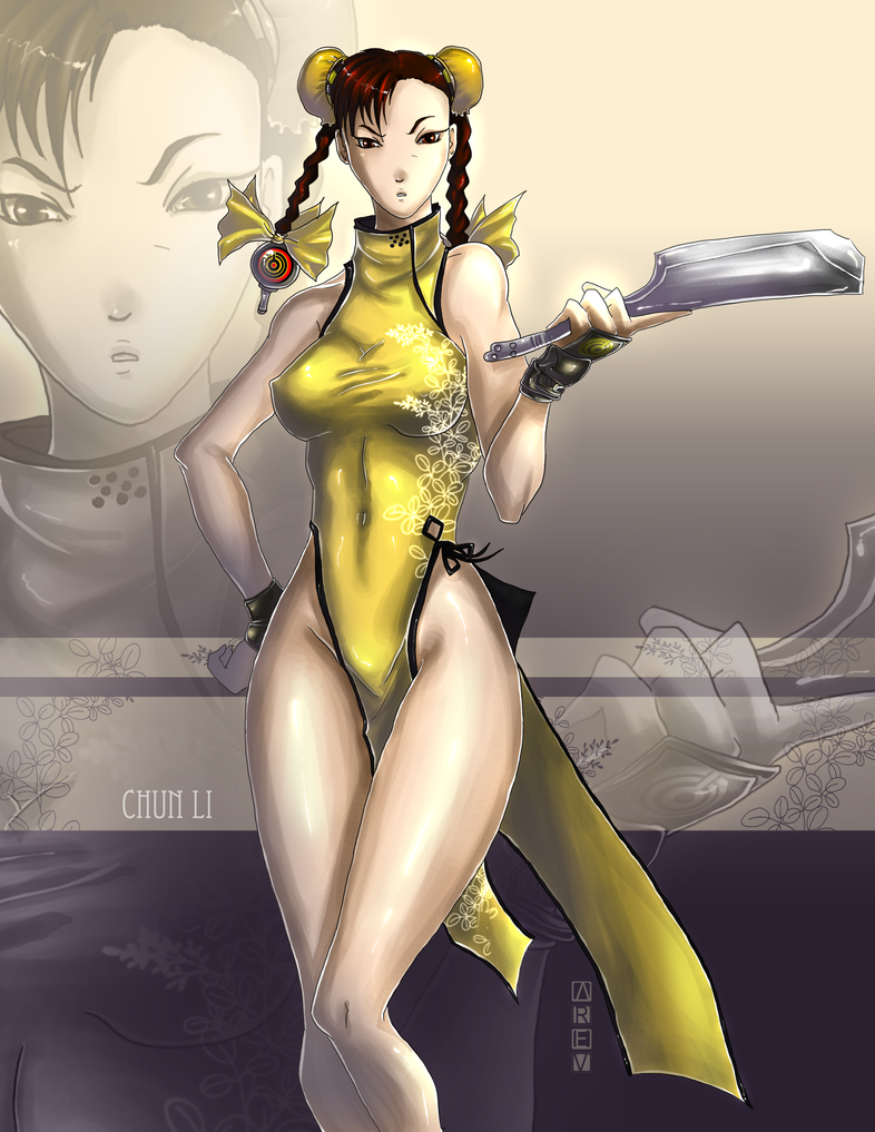Chun Li dress up 2 by Arev-San