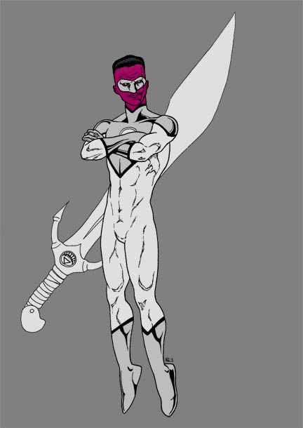 White Lantern: Sinestro by north-green