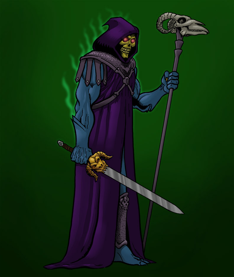 Skeletor by north-green
