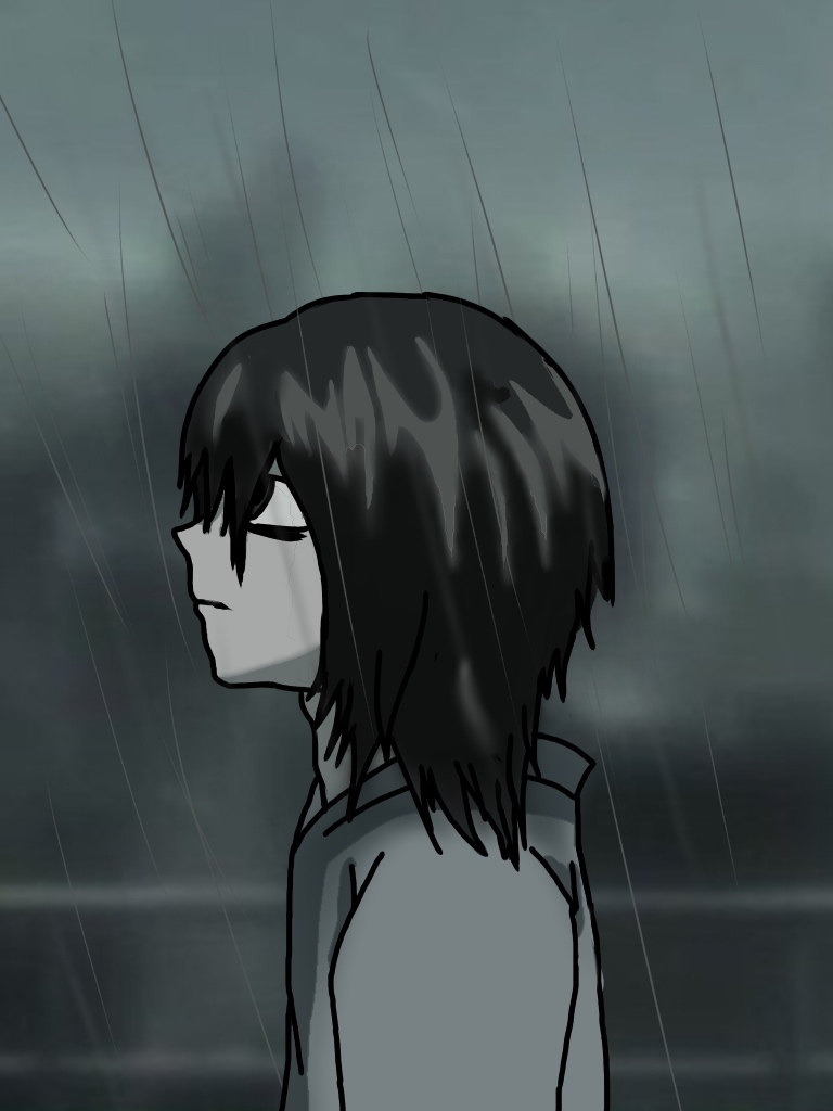 L in the rain by PlusherPlays