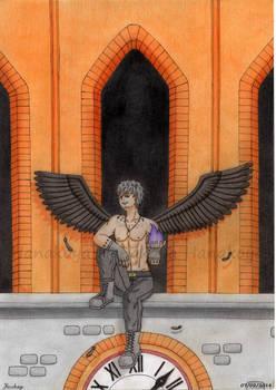 [SpukyCat's Art Contest Entry]  Dark angel