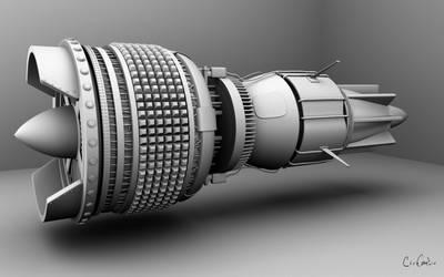Pod Racer Engine by Cyrus3v