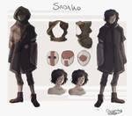 Sadako Clothing Concepts by OctoProbz