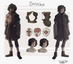 Sadako Clothing Concepts by OctoProbz