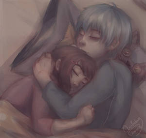 Commission: Chiharu and Kuro