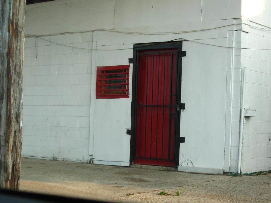Locked Red Barred Door - Stock by Desperation-Stock ... & Locked Red Barred Door - Stock by Desperation-Stock on DeviantArt