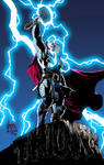 The Mighty Thor Colored
