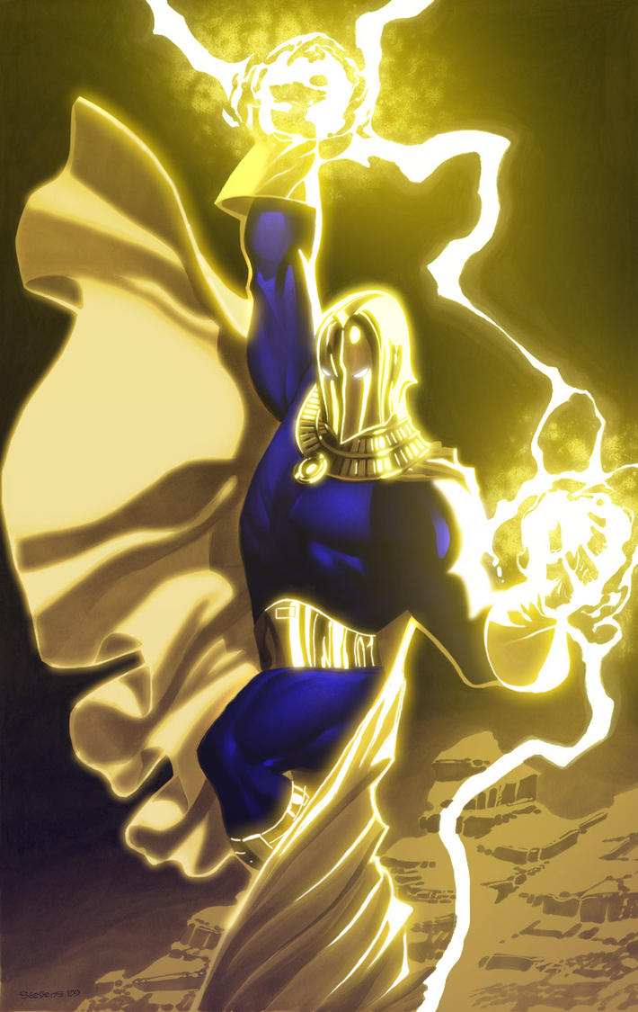 Doctor Fate by xXNightblade08Xx