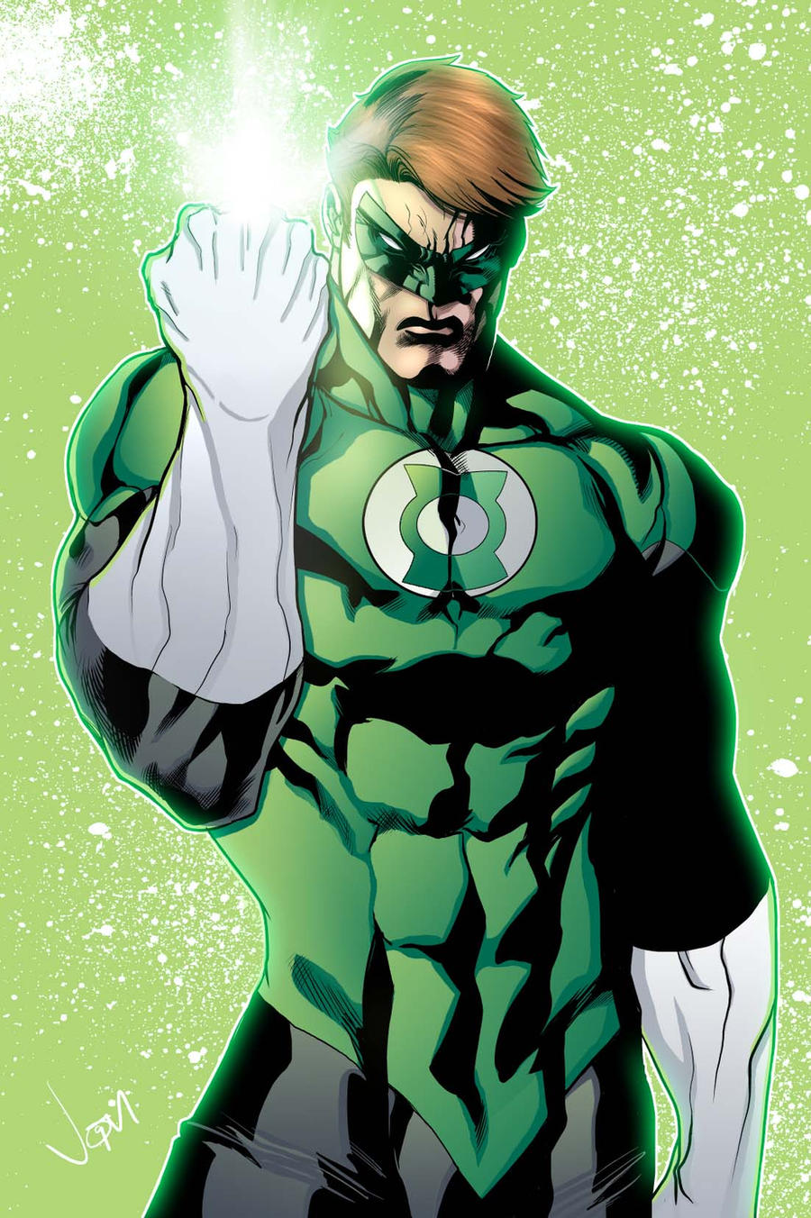 Comics Forever, Hal Jordan as Green Lantern // artwork by ...