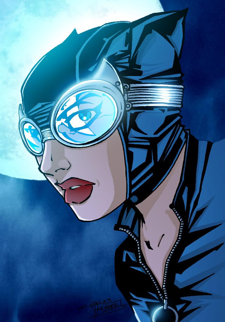 Catwoman by xXNightblade08Xx