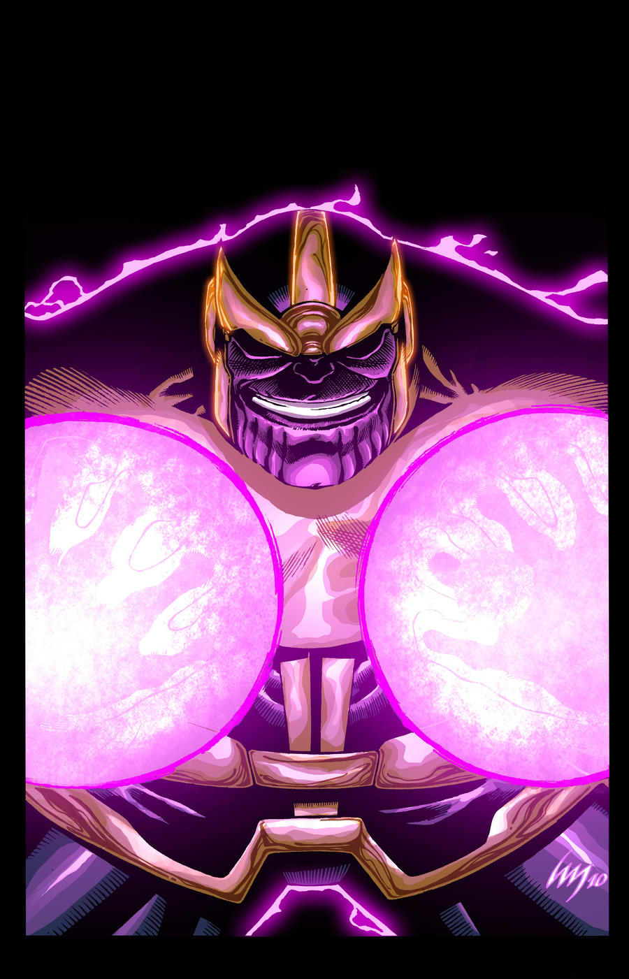 Thanos by xXNightblade08Xx