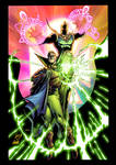 Dr. Fate and Green Lantern